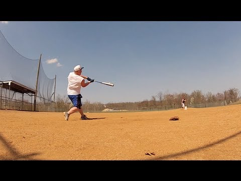 Baseball - Hitting Home Runs Day 2 - GoPro