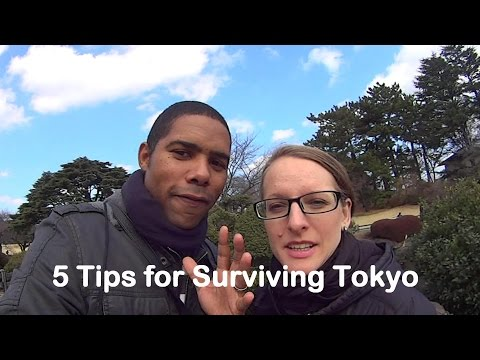 Travel Vlog #17: Five Top Tips for Surviving Tokyo