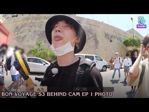 [EP 1] BTS Bon Voyage Season 3 Behind Cam Photo