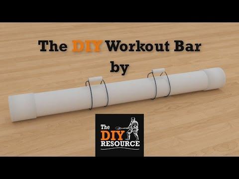 PROMO: Create The DIY Workout Bar - 3D Animated Tutorial