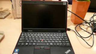 ThinkPad X100e Bootup