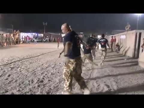 Pull Us Home - International Tug of War, Kandahar, Afghanistan, 2014