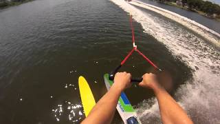 Water Skiing with GoPro - SICK!!!