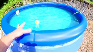 Cheap above ground pool 10 foot review setup