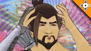 Overwatch Funny & Epic Moments 131 - HOW TO BE A PRO HANZO - Highlights Montage