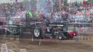 OSTPA Light Limited Pro Stock Tractor Class @ Randolph, Ohio 8/27/16