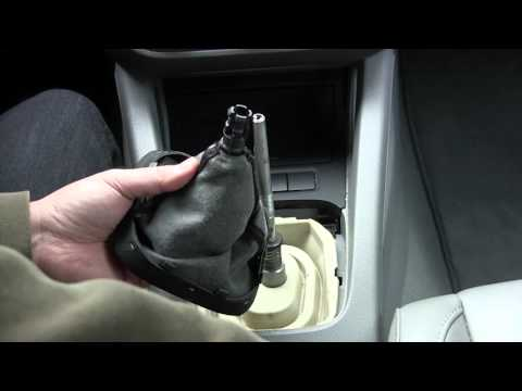 How to install a new leather shift boot on a mk5 and newer VW Audi