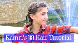 French Twist into Side Braid | Kamri
