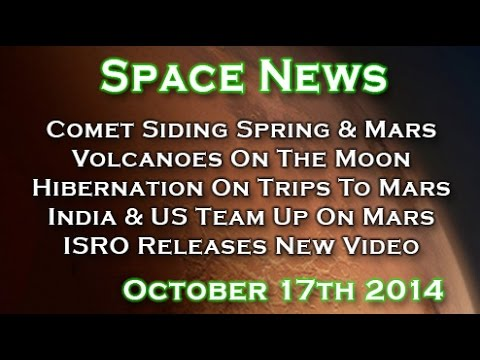 Comet Siding Spring Close Call With Mars, Volcanoes On The Moon - WUITS Space News