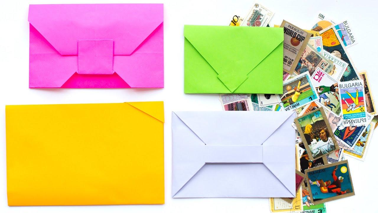 Как сделать не простой конверт из бумаги 67