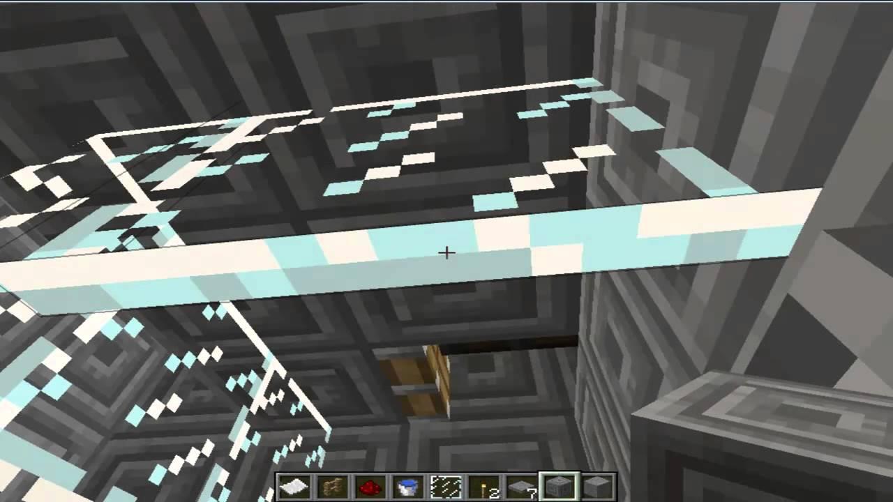 Como Fazer Um Banheiro E Cozinha No MineCraft  YouTube -> Como Fazer Banheiro Moderno No Minecraft