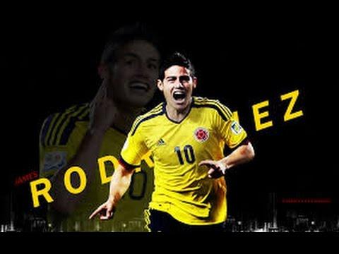 VIDEO  Tremendo golazo de James con Colombia Amistoso colombia