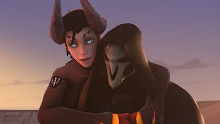 """""""When Mercy fall in love with Reaper''-Overwatch[SFM]"""