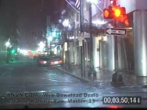 8/29/2005 Hurricane Katrina Video From New Orleans, LA - Pre Dawn - Katrina Raw Master 13