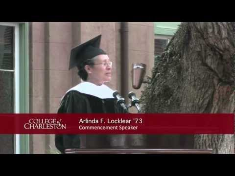 2012 College of Charleston Undergraduate Commencement -- FULL Afternoon Ceremony