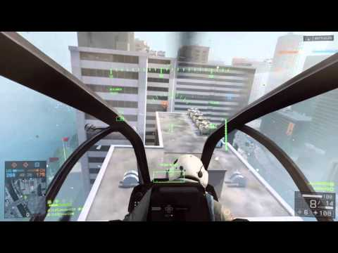 Battlefield 4 - JimJam520 and Ember22 Taking Out Some Snipers - Attack Helicopter