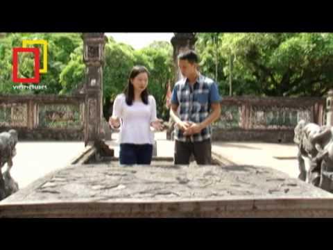 TĐTCV 2012 Sập đá chạm rồng đền vua Đinh