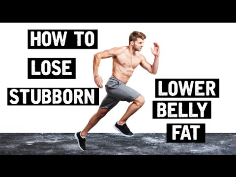 How to lose stubborn belly fat