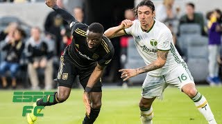LAFC dominates Timbers in 4-1 victory | MLS Highlights