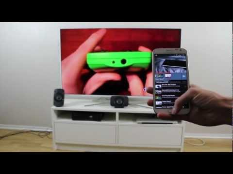 Samsung Smart TV - YouTube Remote with Samsung Galaxy Note 2