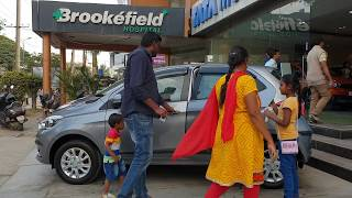 Taking Delivery of Tata Tiago with Family | Exterior,Interior and Driving Video