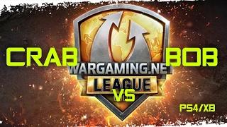 "World of Tanks | Liga CPL s03e02 ""CRAB vs B-O-B"" PS4/XB"