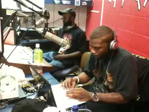 DJ Pyro and Black Spyda on the Radio