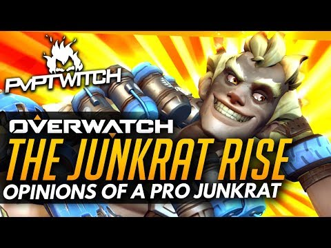 Overwatch | Is Junkrat Now GOOD? - Opinions Of A Pro Junkrat
