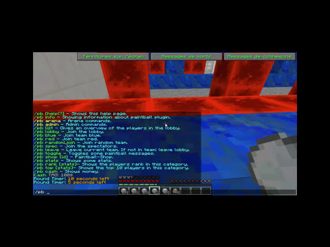 Plugin Minecraft - Paintball War Edition [ TUTO FR ]