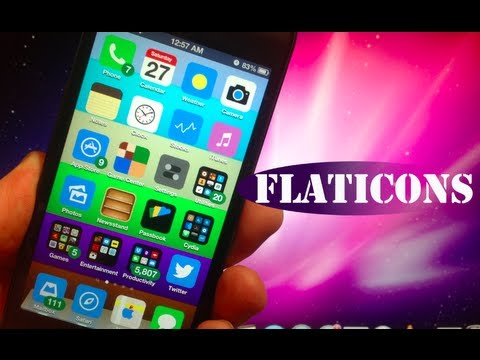 FlatIcons - Best Winterboard Themes Part 1 - 2013