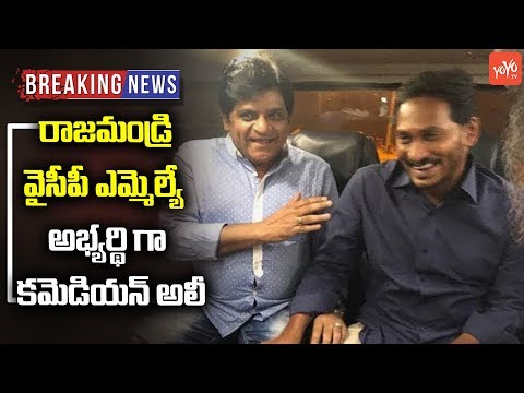 Comedian Ali Contesting From Rajahmundry? | YS Jagan | YSRCP | AP News | Janasena | YOYO TV Channel