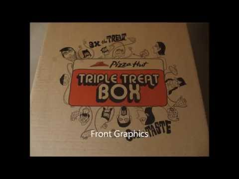 Pizza Hut - Triple Treat Box UNBOXING!