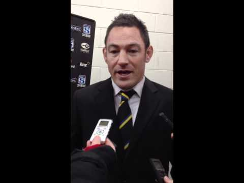 Hurricanes coach Hammett discusses victory over Rebels | Super Rugby Video Highlights