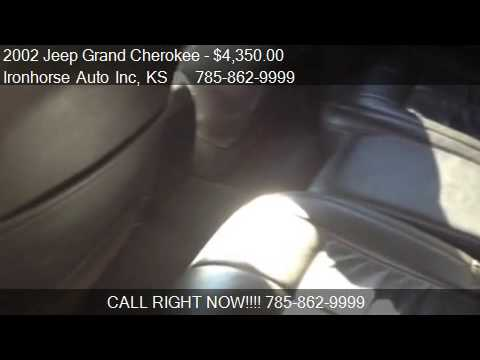 2002 Jeep Grand Cherokee Limited 4WD for sale in Topeka, KS