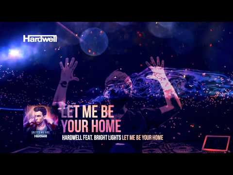 Hardwell Feat. Bright Lights - Let Me Be Your Home (lyric Video) video