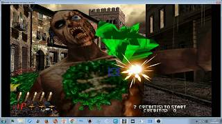 MAME 202 - THE HOUSE OF THE DEAD 2 :L TEST - GT1030 i72600 3.4ghz