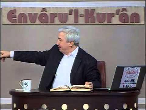 Envâru'l-Kur'ân -8. Ders- Fatihâ Suresi (2-4.ayet) Prof.Dr. Mehmet OKUYAN