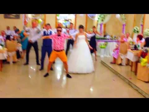 Флэшмоб в день свадьбы