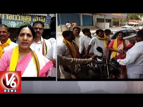 TDP Leader Shobarani Demands Govt To Take Stringent Action Against Brothel Activities | V6 News
