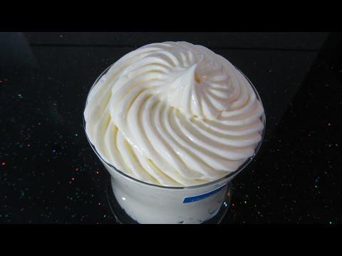 Сметанный Крем рецепт для прослойки и украшения тортов и пирожных Вкусный Десерт ludaeasycook recipe