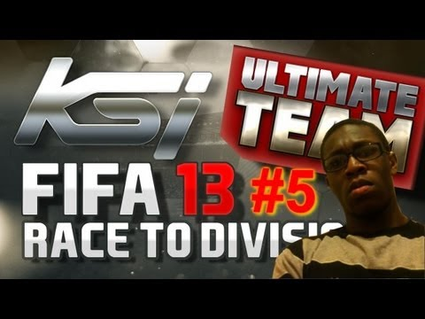 FIFA 13 Ultimate Team Race To Division One Ft My Bro #5