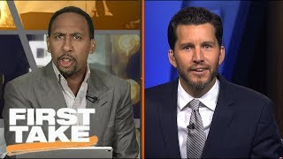 Stephen A. Goes Off On Will Cain Over Jay Cutler | First Take | ESPN