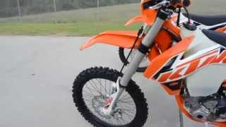2015 KTM 350 XCF and 350 XCF-W  What is the difference?