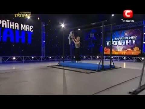 Украина мае талант 5 сезон - Сергей Евплов (workout)