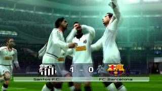 FIFA Club World Cup 2011 Final in PES6: FC Barcelona vs Santos FC (HD 720p)