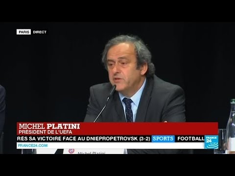 URGENT - Michel Platini :