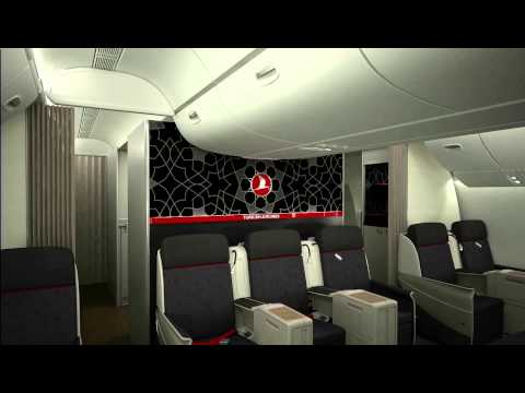 Turkish Airlines - Business Class 3D