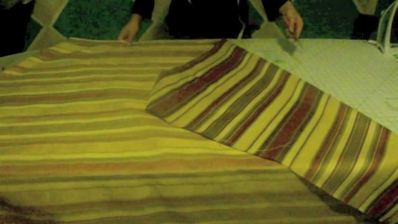 Como hacer una cortina romana parte 1 3 la receta de la - Como hacer unas cortinas para el salon ...