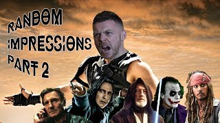 Celebrity Voice Impressions Part 2 - MOVIE EDITION - Taken/Dark Knight/Star Wars & MORE!