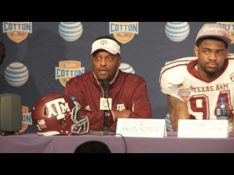 Head Coach Kevin Sumlin Post Game News Conference